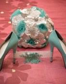 Deja que tus zapatos de novia sean los protagonistas