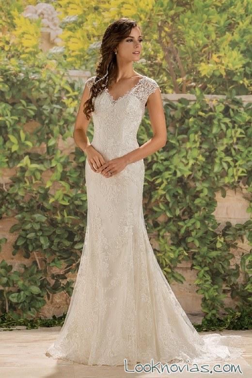 vestidos de novia con tirantes