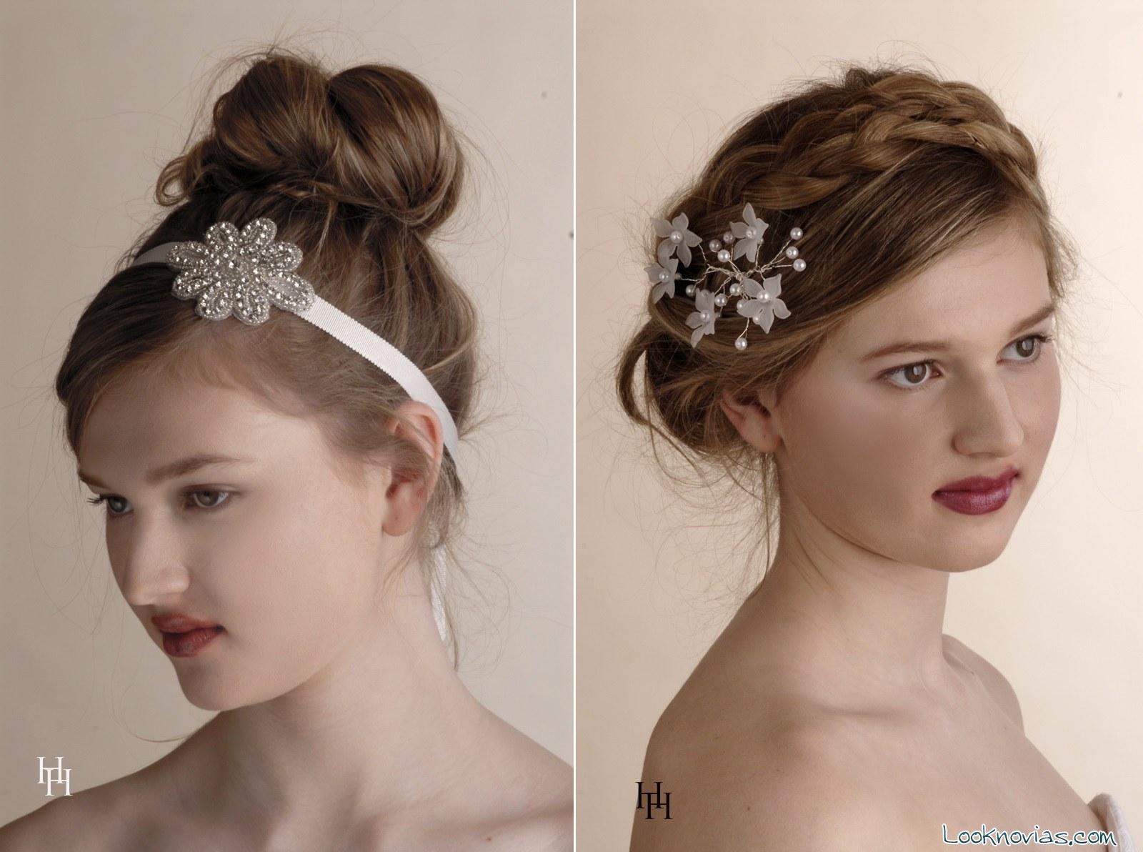 tocados para novia elegantes