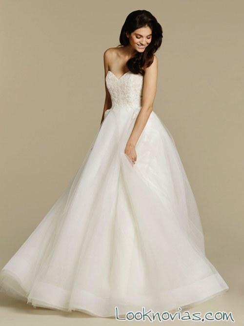 traje de novia primavera 2016 tara keely