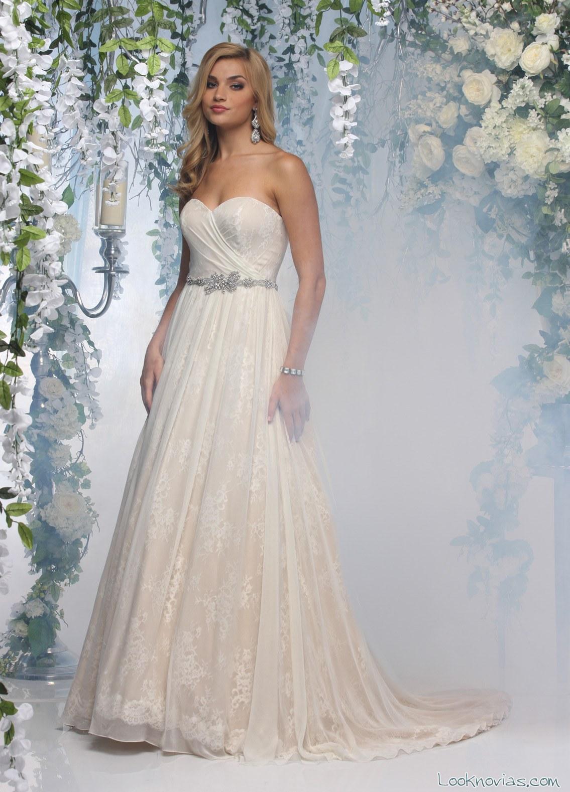 traje novia impression bridal princesa