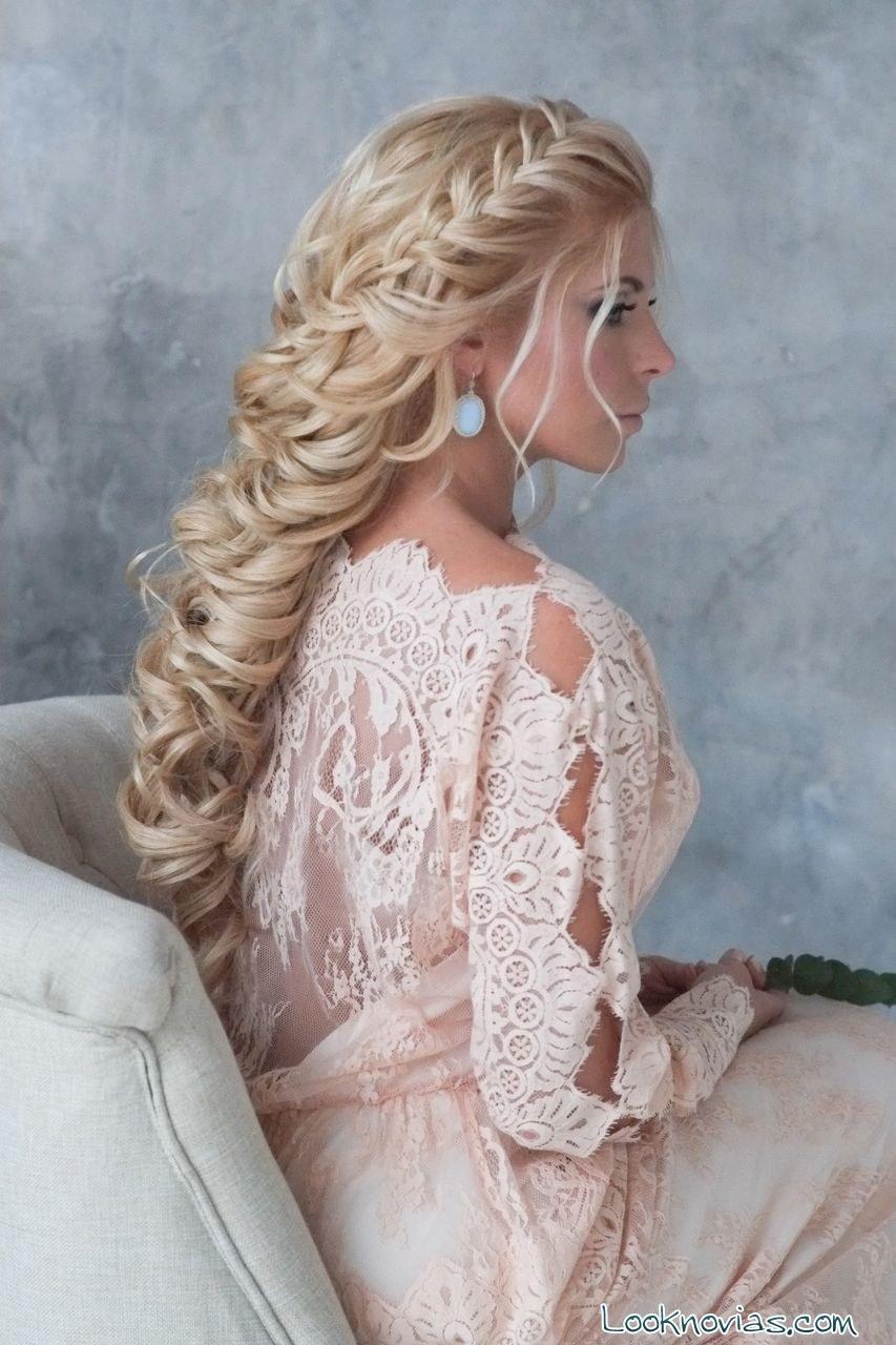 trenzas para peinado de novia