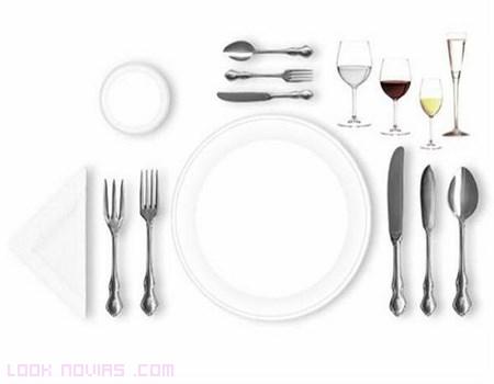 Uso de los cubiertos seg n protocolo - Protocolo cubiertos mesa ...