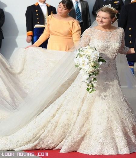 Vestidos de novia en blanco