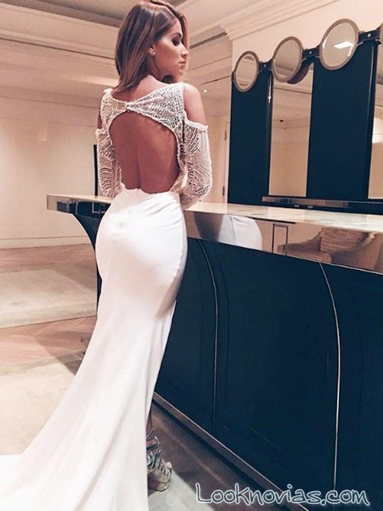 vestido ajustado pallas couture novias