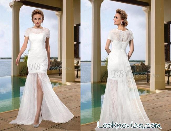 vestido barato novia