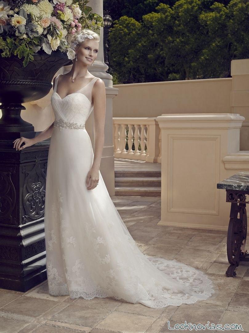 vestido blanco casablanca rose