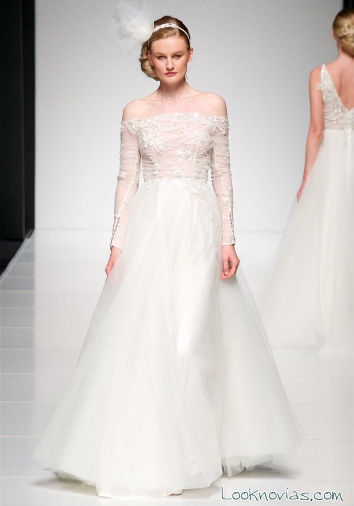 vestido blanco con mangas alan hannah