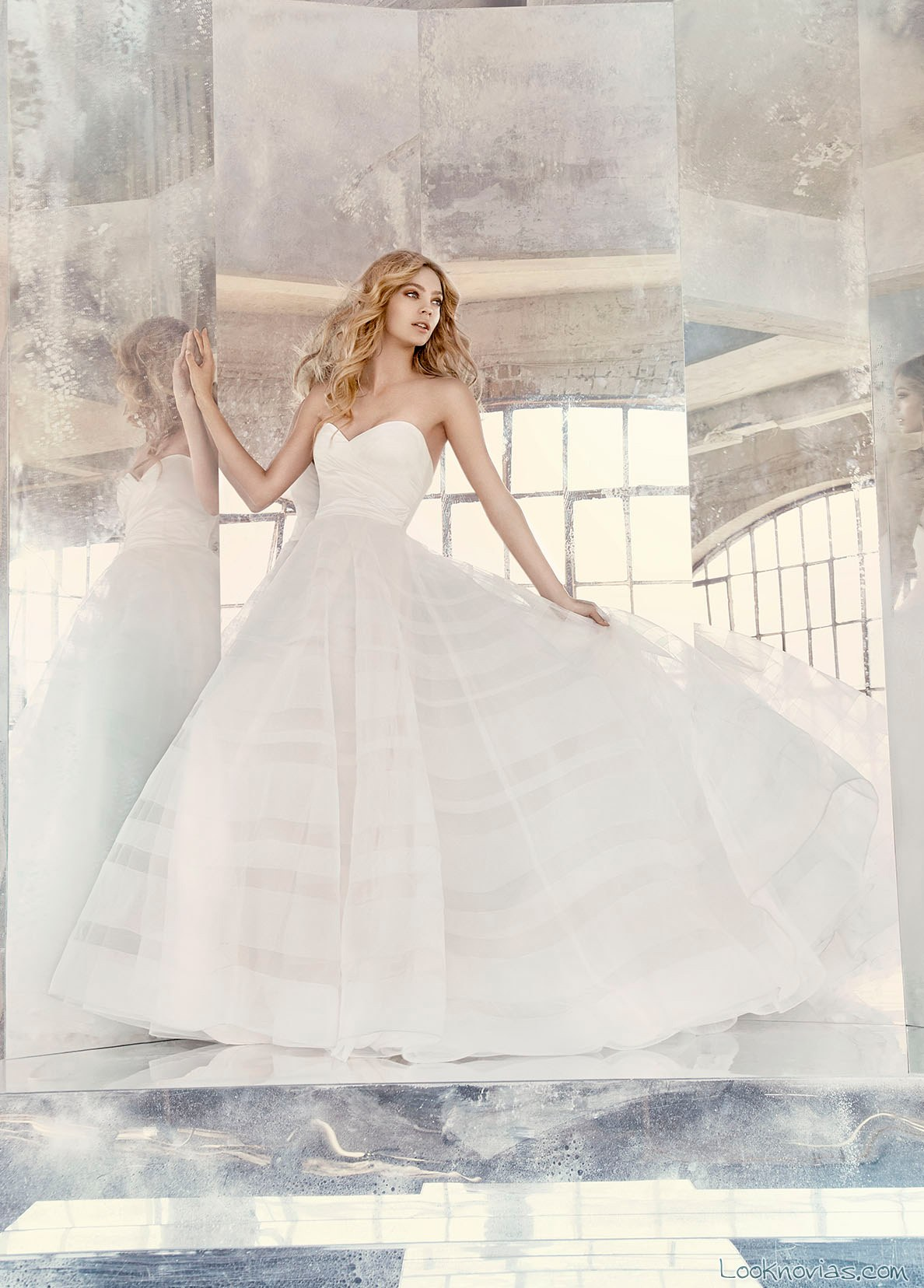 vestido blanco de novia hayley paige