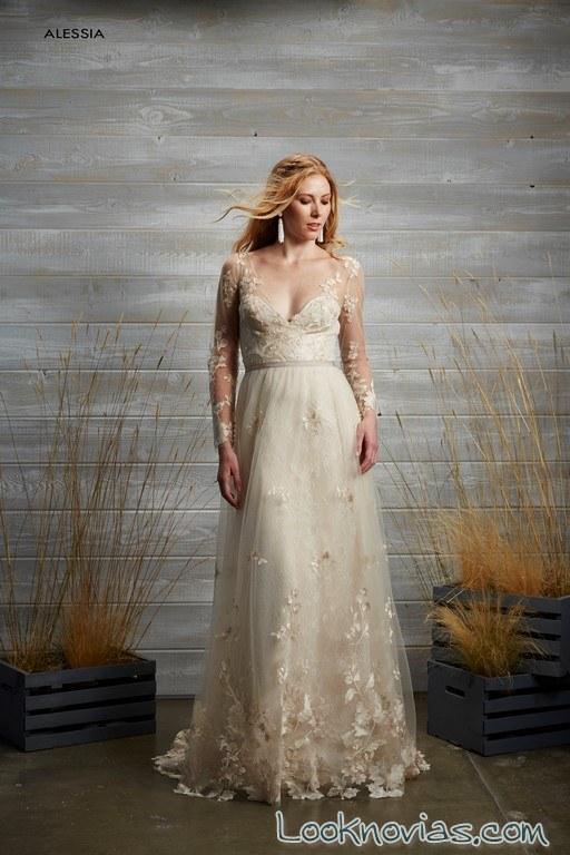 vestido blanco de tara lauren