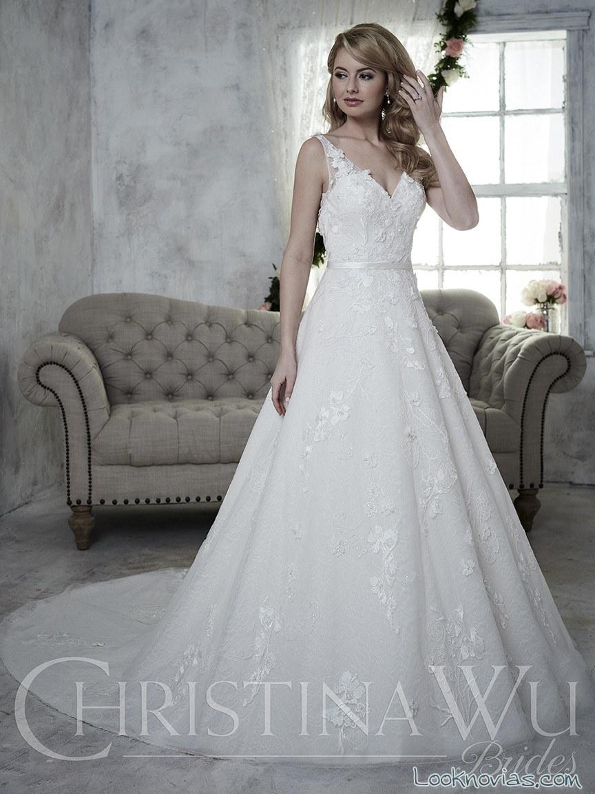Novedades en los vestidos de Christina Wu
