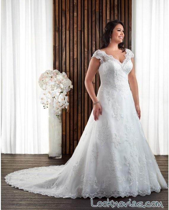 vestido bonny bridal encajes en tirantes