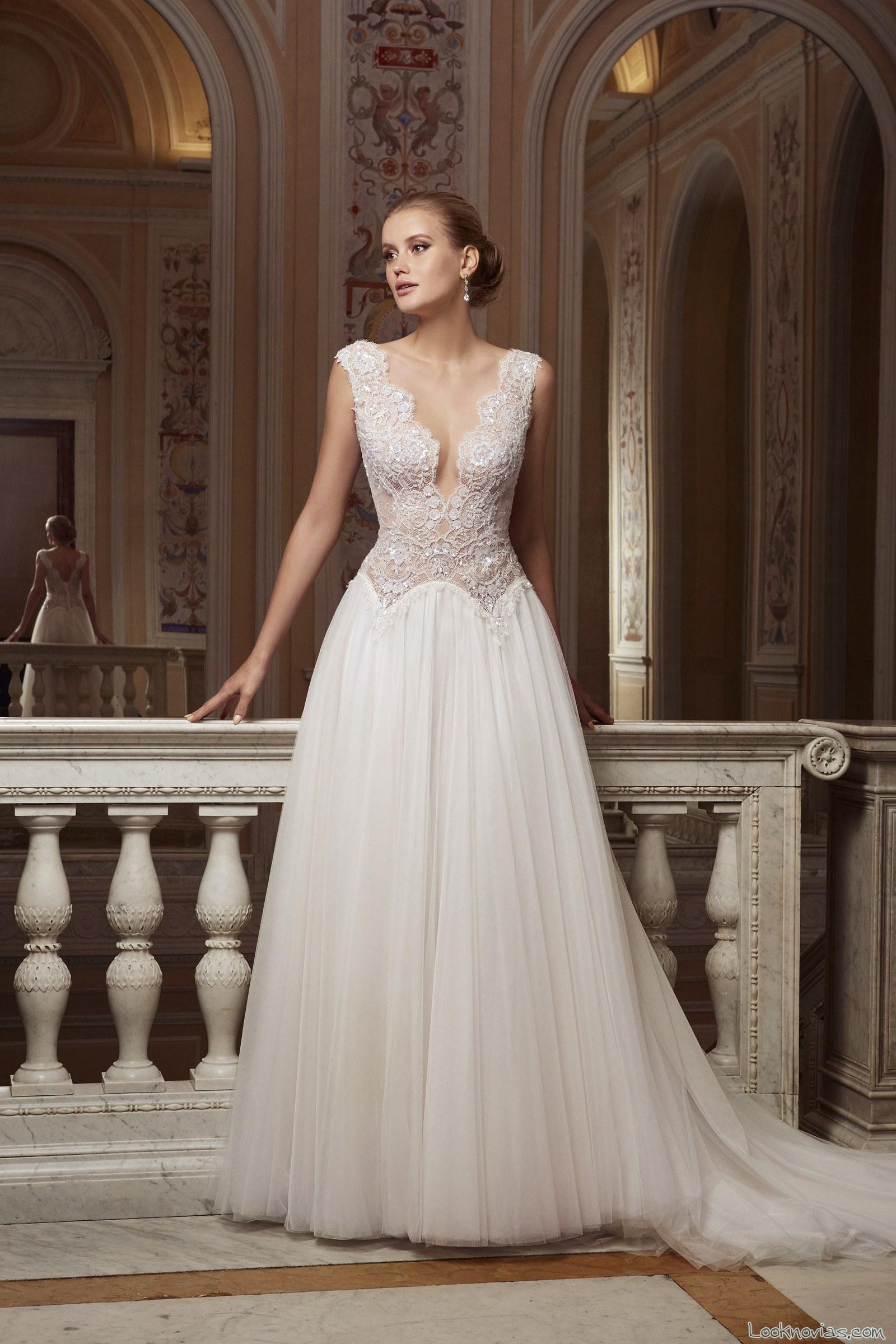 vestido caida sencilla novias valentini couture
