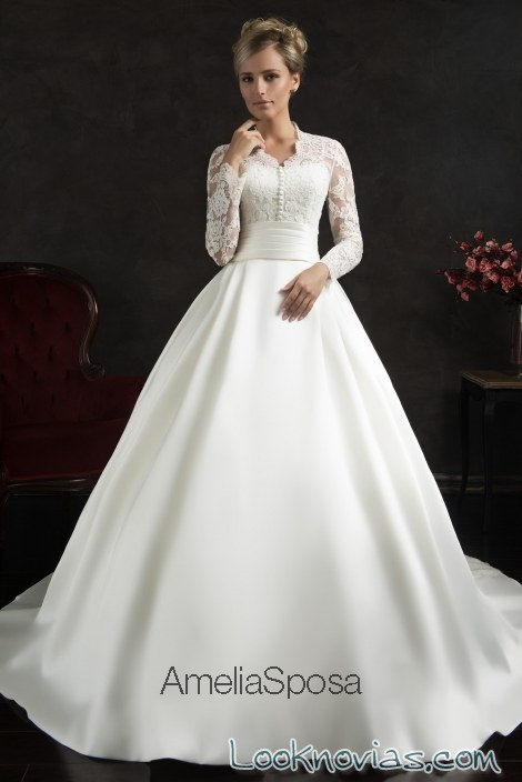 vestido camisero de amelia sposa