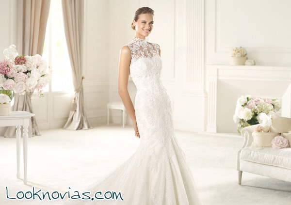 Tres vestidos de novia colección Glamour