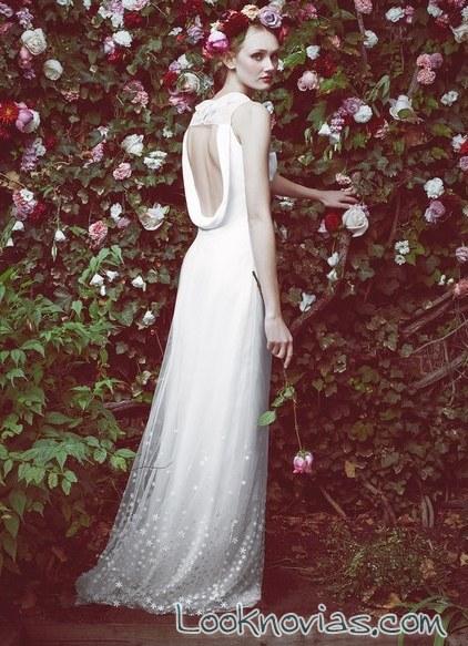 vestido con escotes stone fox bride