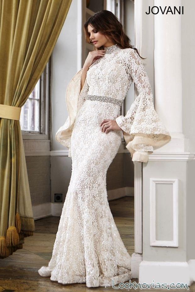 trajes para novia de jovani