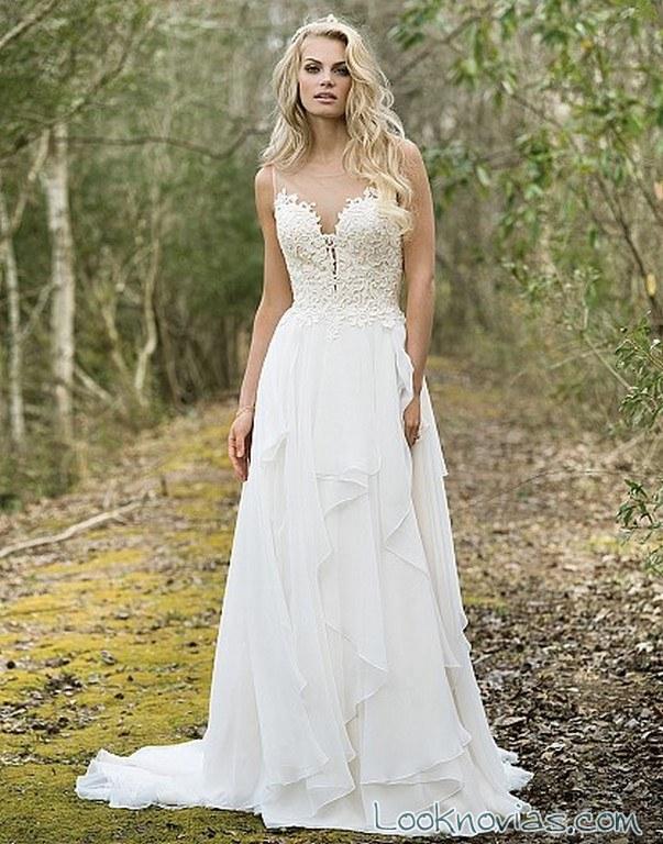 vestido corte strapless 2017