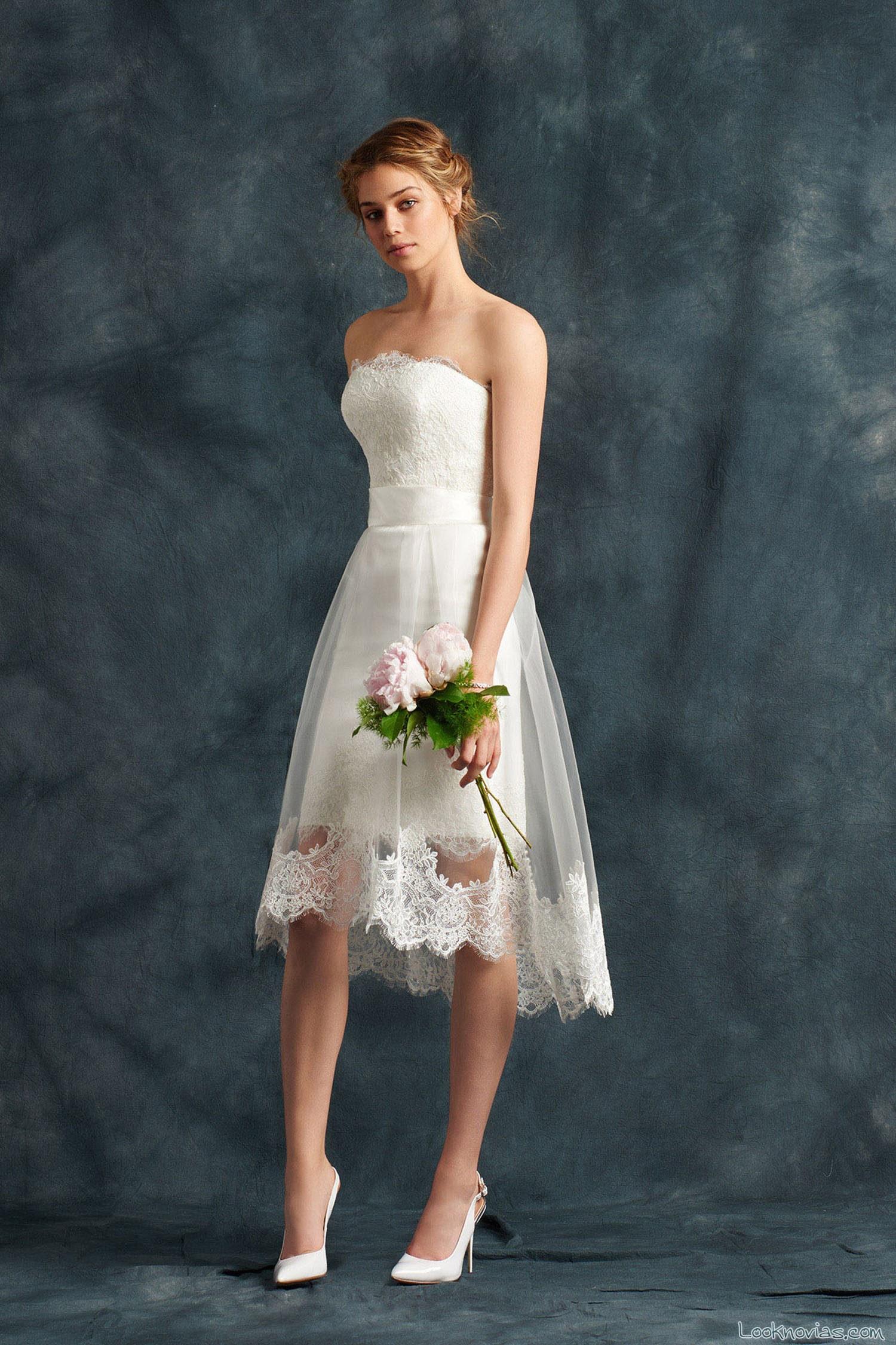 vestido corto blanco atelier emé