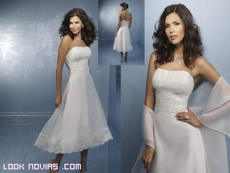 Vestidos cortos para boda civil