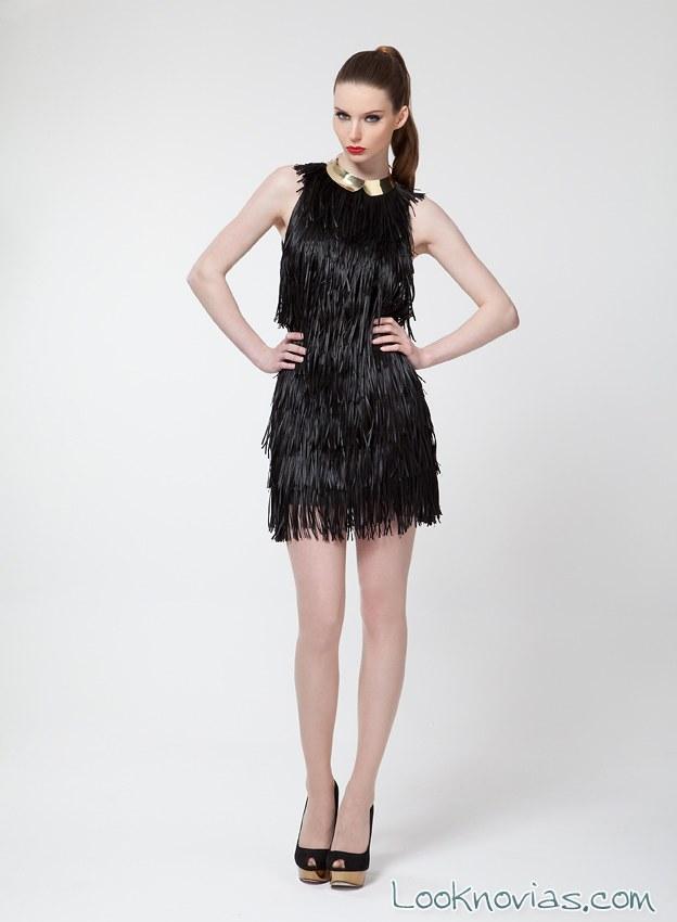 vestido corto para invitadas 2015