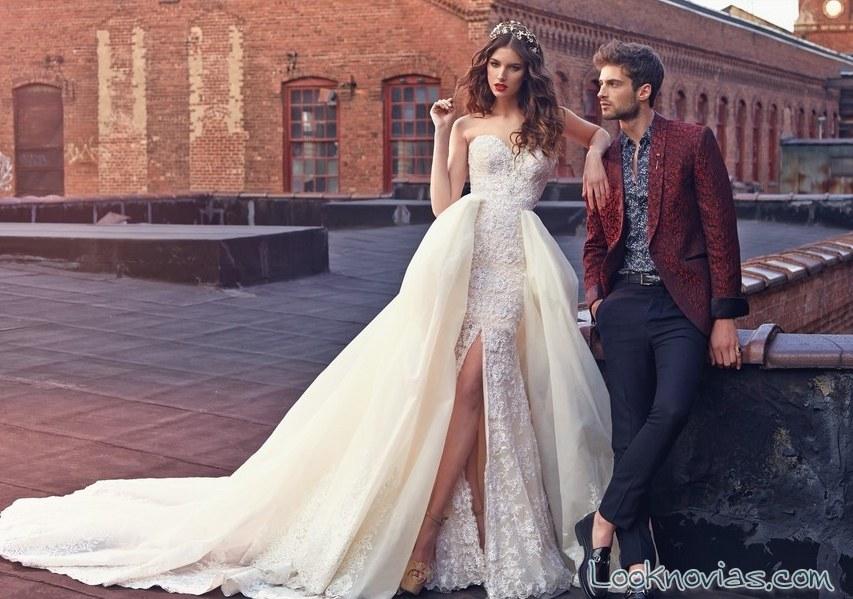 vestido de capas galia lahav
