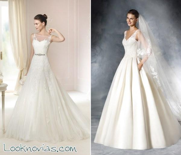 Selección de vestidos con faldas de volumen por White One