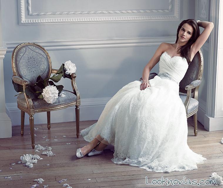 vestido de falda princesa caroline castigliano