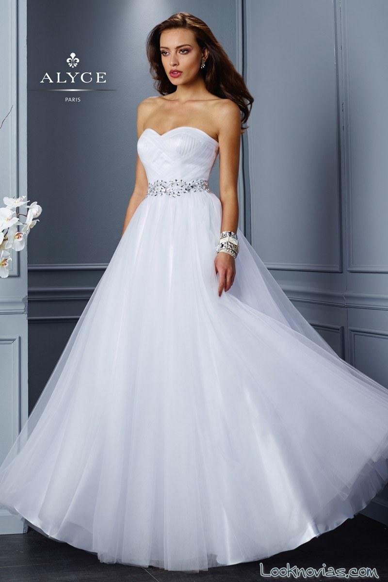 vestido de gasa para novia alyce bridal