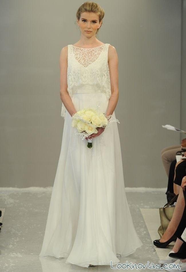 vestidos de gasa para novia – vestidos de boda