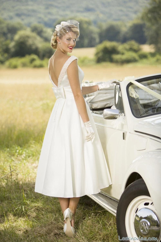 vestido de novia con perlas