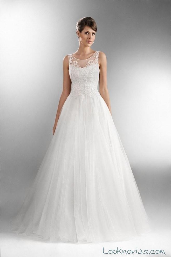 Vestidos de novias largos