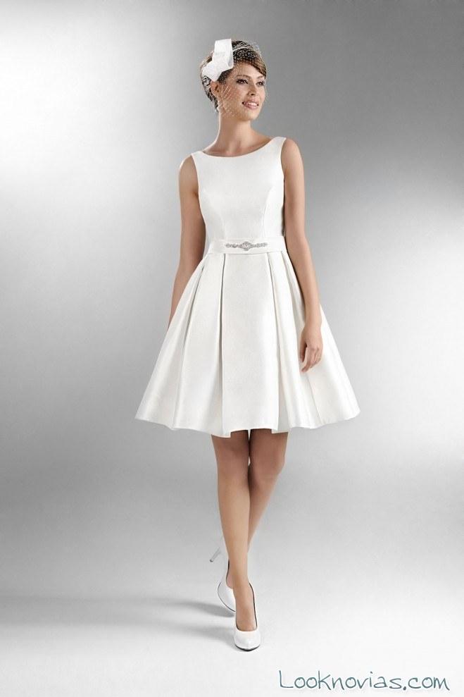 Vestidos de novia largos y cortos The One