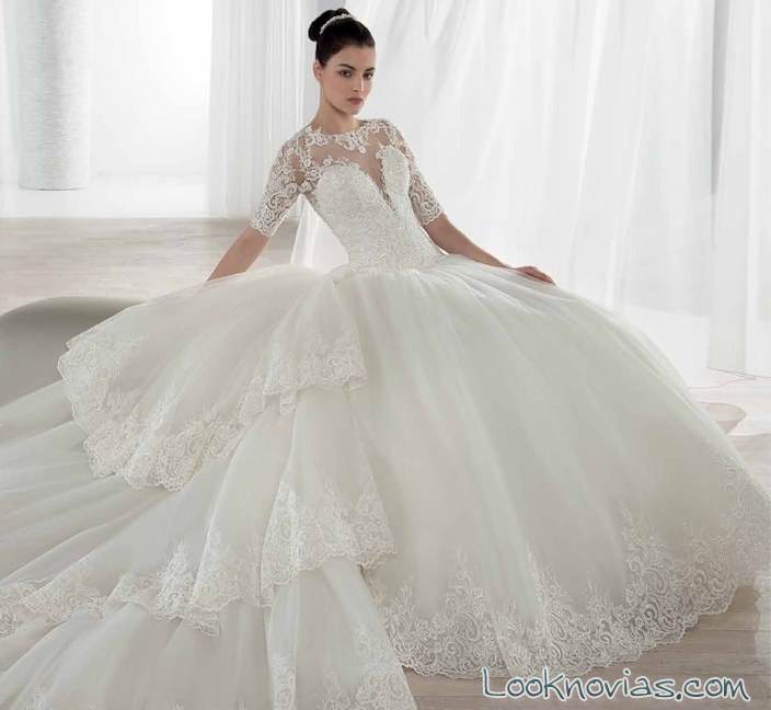 asombrosa colección de novia por demetrios