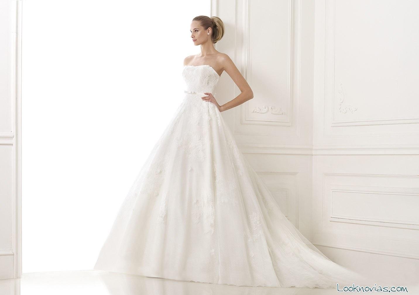 vestido de novia elegante 2015
