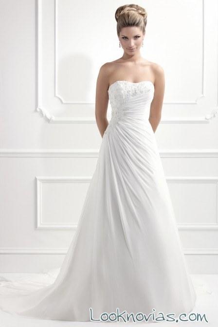 vestido de novia envolvente de ellis bridal