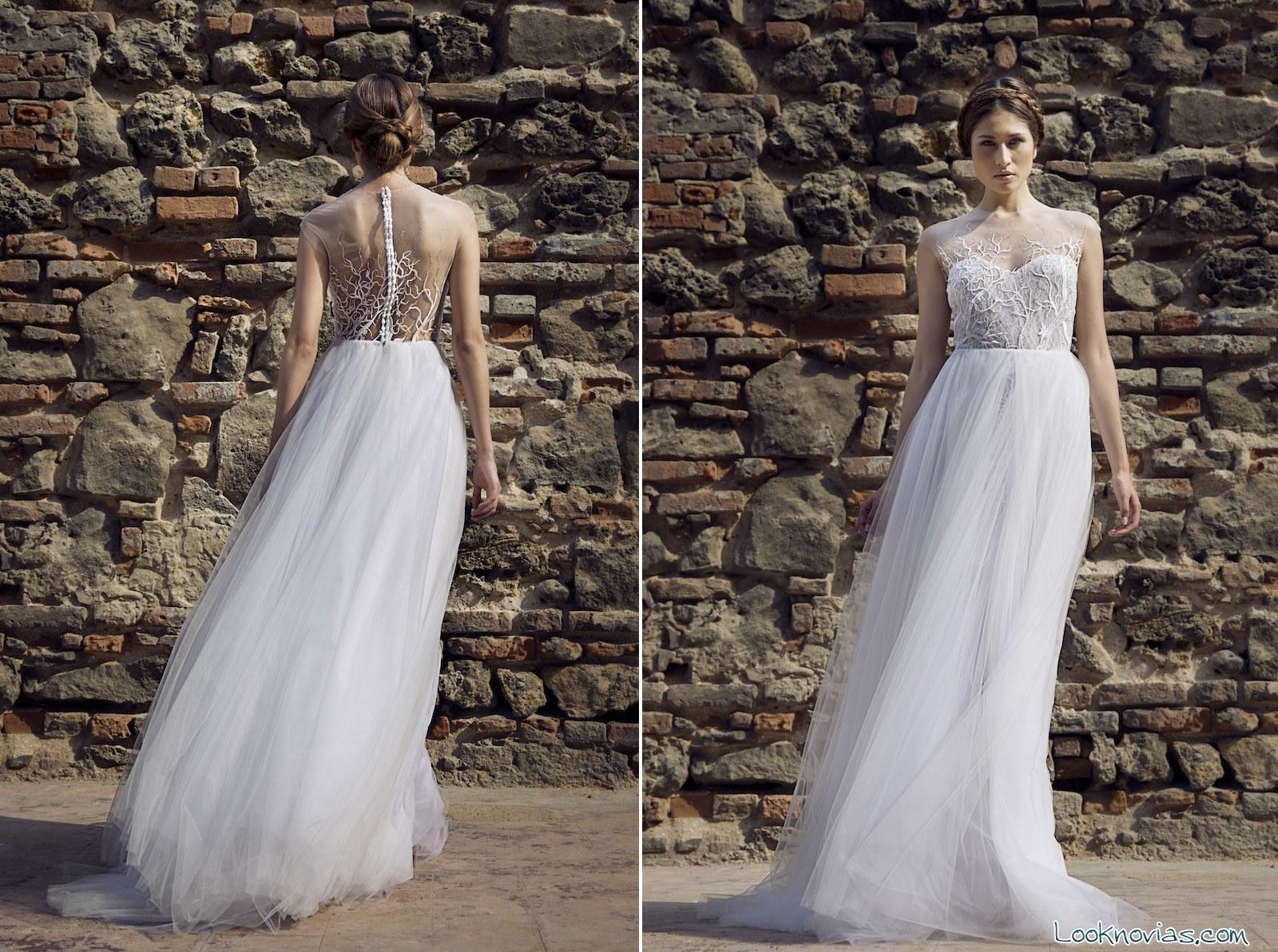 vestido de novia Francesca Miranda