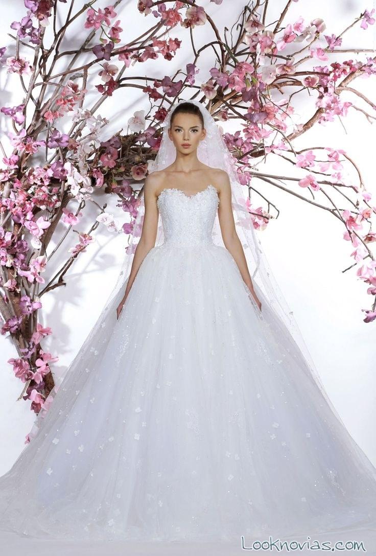 Vestido de novia georges hobeika