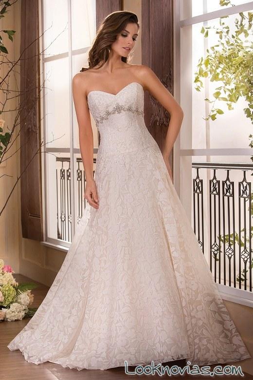 vestido de novia jasmine corte A
