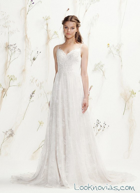 vestido de novia lillian west primavera 2016