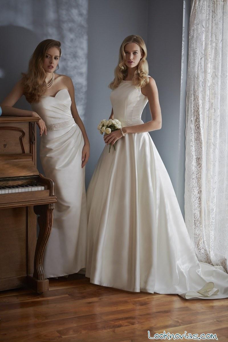 vestido de novia MiaMia con cinturones