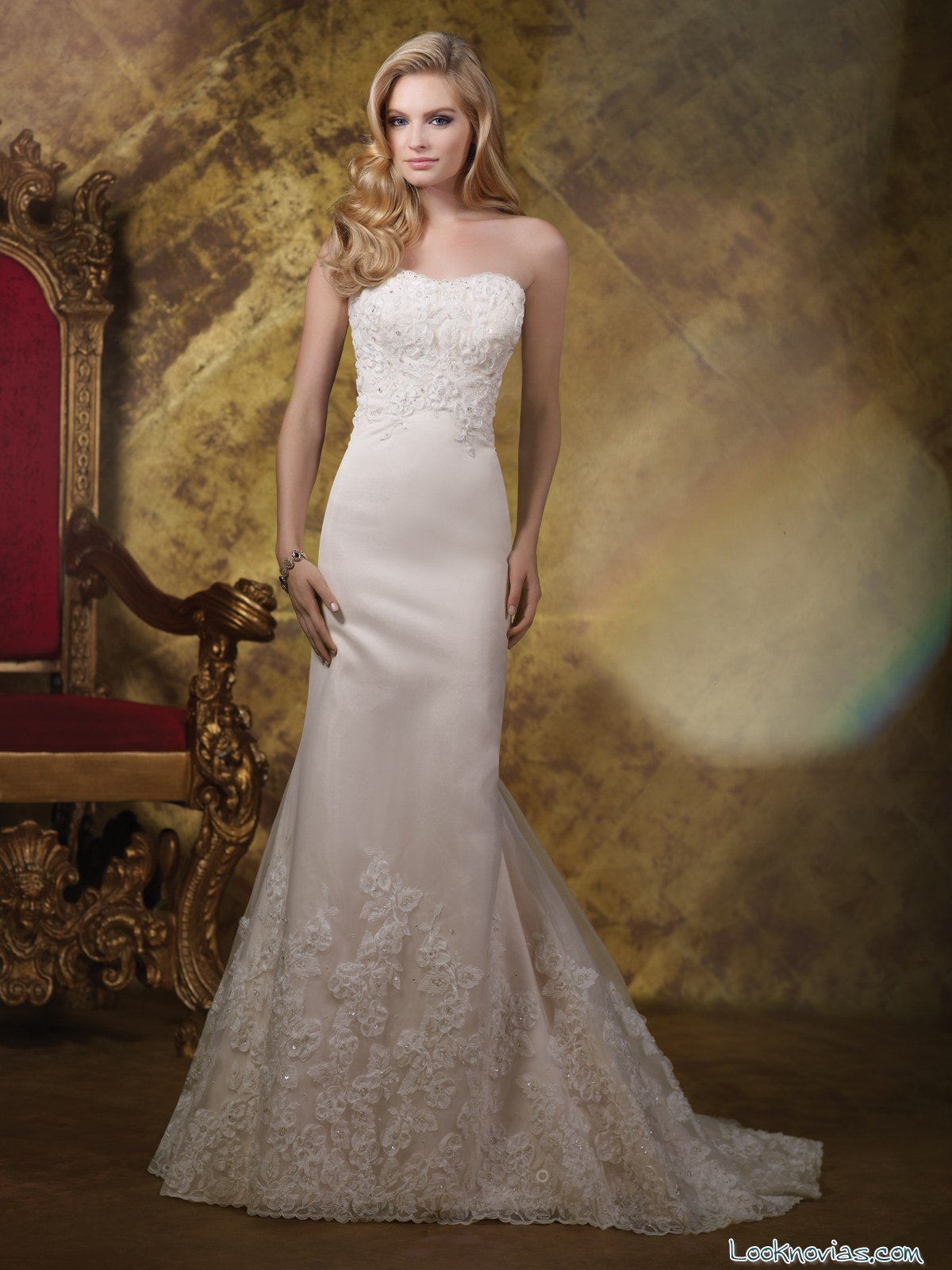 vestido de novia por james clifford