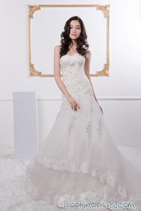 vestido de novia rico-a-mona sencillo