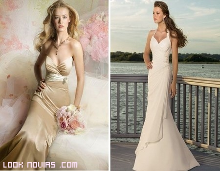 Vestidos de novia para segundas bodas