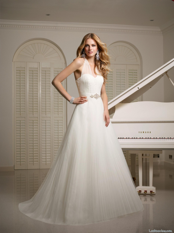 vestido de novia sencilla 2015