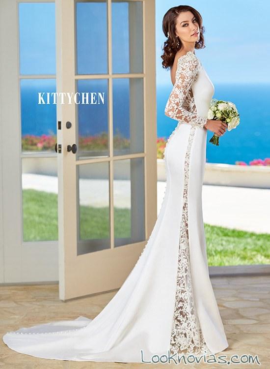 Vestidos de novia corte sirena 2016