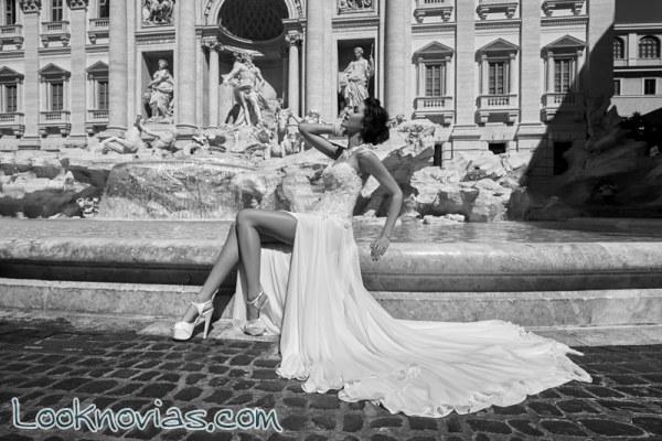 La sensualidad y belleza de los trajes de novia