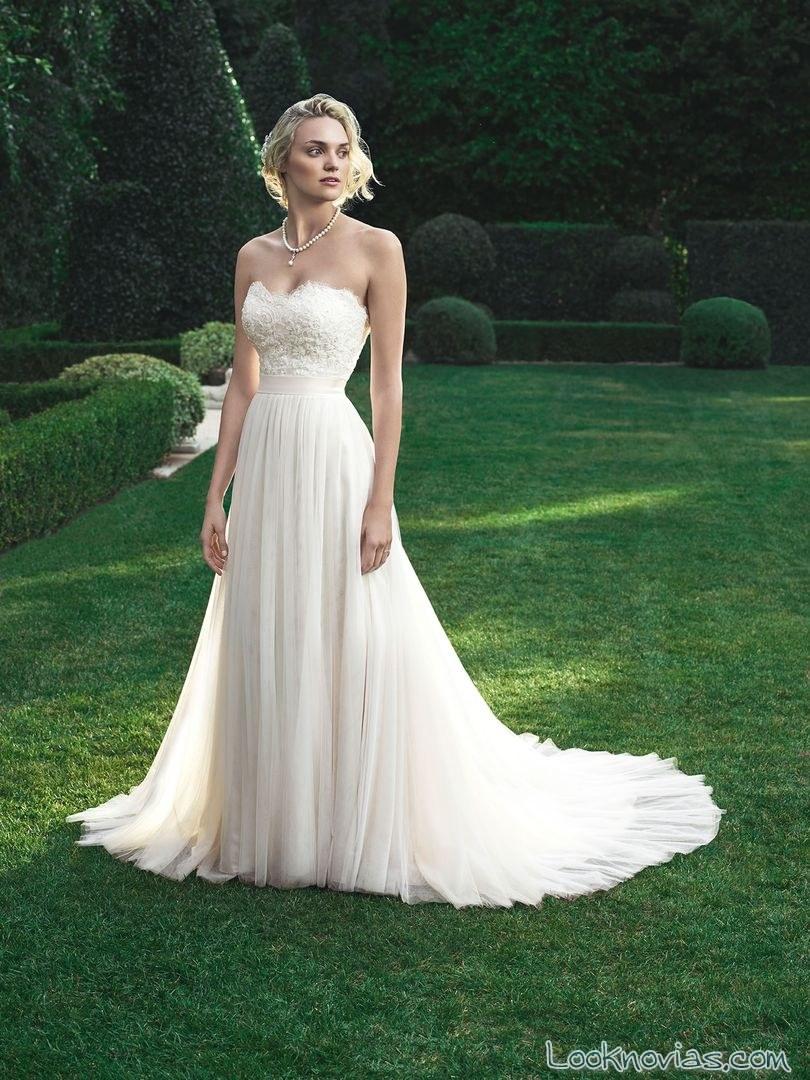 Vestidos de la colección Magnolia, unas apuestas muy elegantes