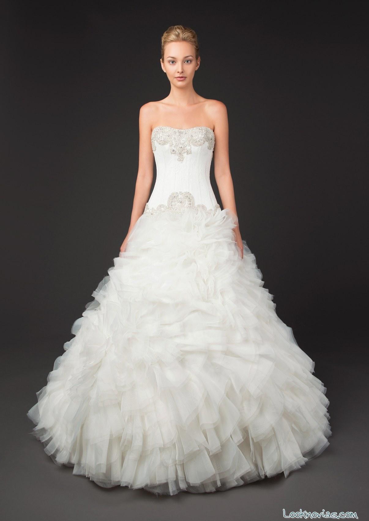 vestido de novia winnie couture princesa