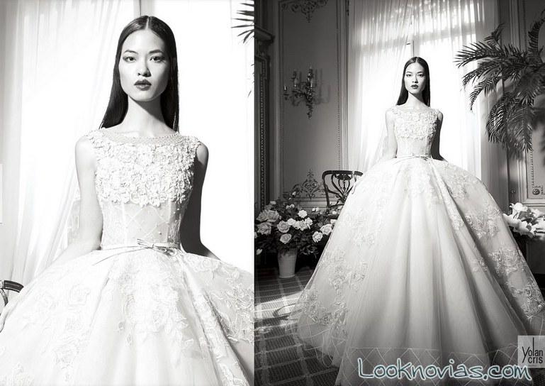 vestido de novia yolancris 2016